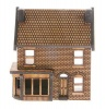 N-SH003 Low Relief Victorian Shop/Terraced House Left Hand N Gauge Laser Cut Kit