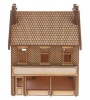 SH014 Victorian Terraced Shop Type 3 Left Handed OO Gauge Laser Cut Kit