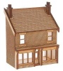 SH006 Victorian Terraced Shop Type 1 Low Relief Front OO Gauge Laser Cut Kit