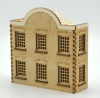 WH005 Semi Low Relief Warehouse Window Frontage OO Gauge Laser Cut Kit