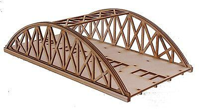 BR011 Twin Track Short Bowstring Rail Bridge OO Gauge Model Laser Cut Kit