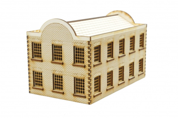 WH004 Warehouse Building Window Frontage OO Gauge Laser Cut Kit