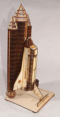 Space Shuttle Columbia Laser Cut Model Kit