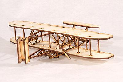Wright Flyer Laser Cut Model