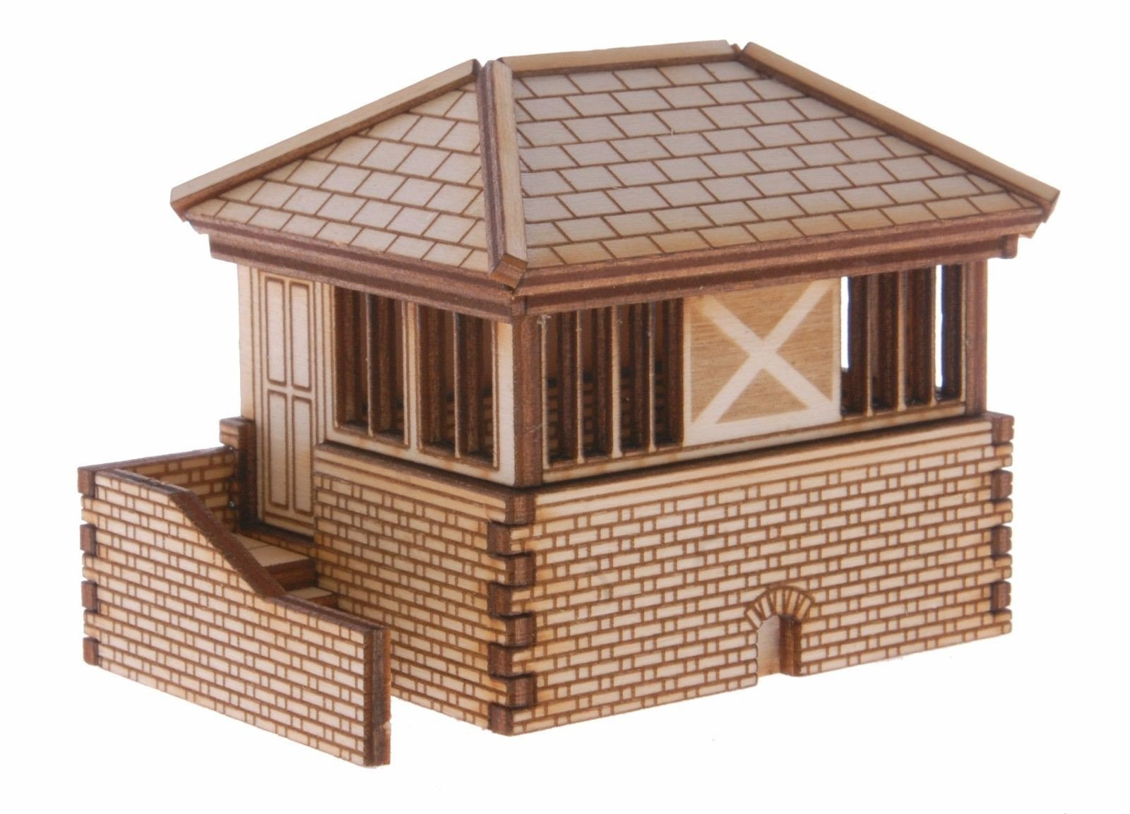 SB002 Signal Box Type 2 OO Gauge Laser Cut Kit